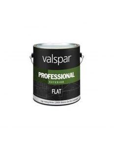 Valspar - White Exterior Latex Paint, 1 Gallon