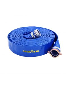 "4"" x 50' Blue Discharge Hose"