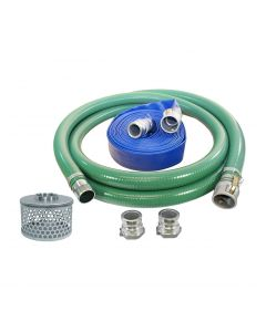 "Abbott 4"" Water Pump Hose Kit with Quick Connects"