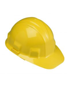 Yellow Hard Hat with Ratchet