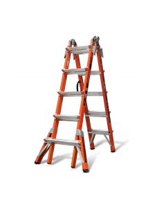 Little Giant Conquest, Model 22 - Type IA - 300 lbs Rated, Fiberglass Articulating Ladder