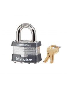 """Master Lock Laminated 1KA2126 Padlock - 15/16"""" Shackle"""