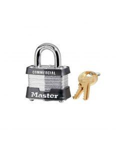 """Master Lock Laminated 3KA3210 Padlock - 3/4"""" Shackle"""