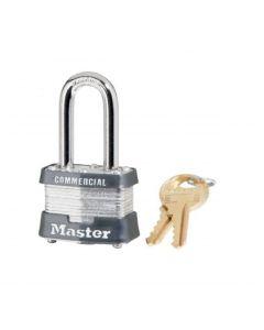 "Master Lock Laminated 3KALF3210 Padlock - 1-1/2"" Shackle"