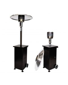 Rhino Black 4075 Collapsible Patio Heater