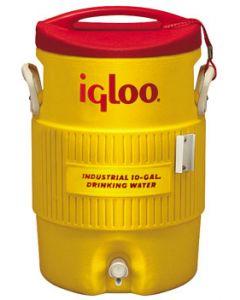 10 Gallon Igloo Industrial Yellow Water Cooler
