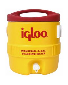 3 Gallon Igloo Industrial Yellow Water Cooler