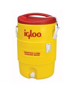 5 Gallon Igloo Industrial Yellow Water Cooler