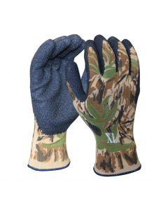 Camouflage Knit Glove, XL