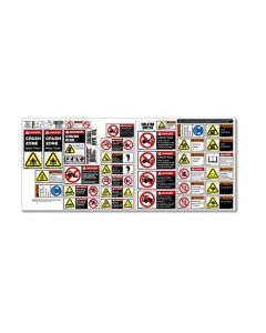 AG Tractor Safety Stickers