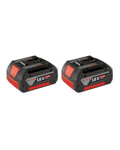 Bosch 18V Lithium-Ion FatPack Battery (4.0 Ah) - 2-Pack