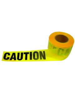 Yellow Caution Tape, 2 Mil