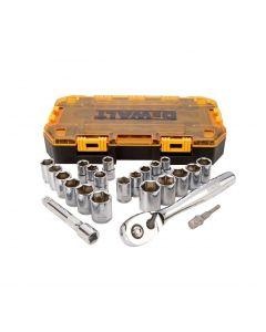 DeWALT 23-Piece Stackable 1/2in. Drive Socket Set DWMT73813