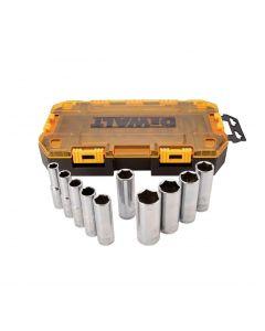 DeWALT 1/2in. Drive Socket Set (10-Piece) DWMT73814