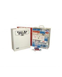 4-Shelf Industrial First Aid Station