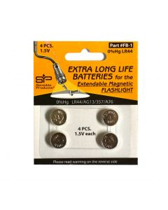 LR44 Batteries, Pack of 4