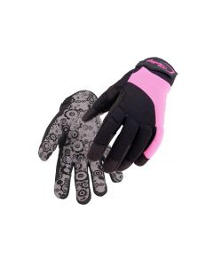 Synthetic Leather Women Gloves