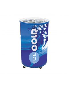 Ice Hawk Cooler Merchandiser w/Lid