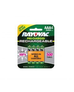 Rayovac AAA NiMH Rechargeable Batteries