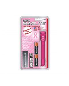 Maglite Mini Mag 2AA LED - Pink