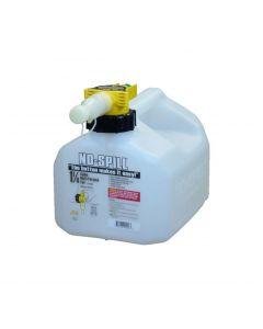 1.25 Gallon Translucent No-Spill Multi Purpose Container
