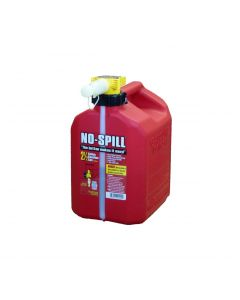 2.5 Gallon Red No-Spill Gasoline Container