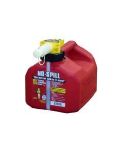 1.25 Gallon Red No-Spill Gasoline Container