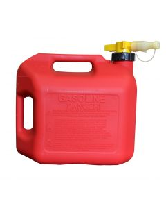 5 Gallon Red No-Spill Gasoline Container