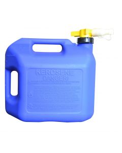 5 Gallon Blue No-Spill Kerosene Container