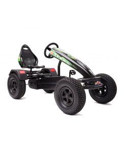 XL-4 Pedal Kart w/ Charger Green Graphics & Black Frame