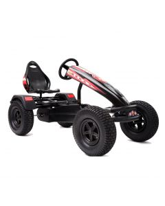 XL-4 Pedal Kart w/ Charger Red Graphics & Black Frame