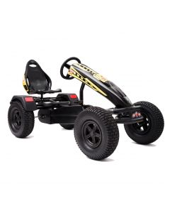 XL-4 Pedal Kart w/ Charger Yellow Graphics & Black Frame